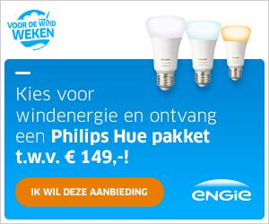Philips hue starterpakket gratis bij energiecontract